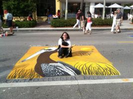 Chalk Art by PhandomMom