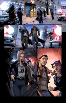 Jim Butcher S Dresden Files  Down Town Color by logicfun