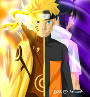 Naruto and Sasuke: the past  won't come back by Feiuccia
