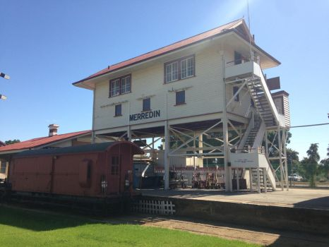Merridin Railway Station Museum - Signal Box by The-ARC-Minister