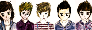 One Direction by uchiha-13