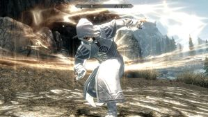 White Lantern Psijic Robes by PyroDark