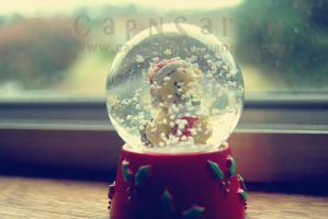 Christmas in a dome. by CapnSarah