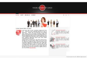 web-template 01 by Guarrd by webgraphix