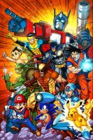 Ultimate Team Up Colors by c-crain