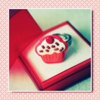 Cupcake Ring by koshadesing
