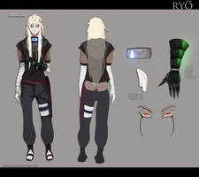 Naruto OC Sheet - Ryo by Xravas