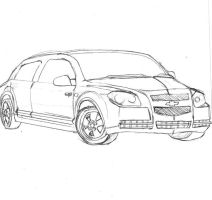 ford hybrid malibu 2008 by raineth5