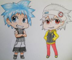 Soul and Blackstar by SaMelodii