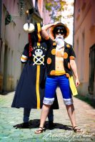 Back Up | Law x Luffy XVIII by MatterOfHeart