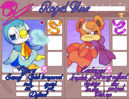 PMDO-Team Royal Blue! updated by Riddinghood