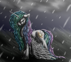 Stand in the Rain by Silvy-Fret