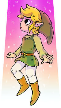 Good old Toon Link by pSarahdactyls