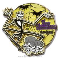 a Jack Skellington pin by AngelFromMyNightm-re