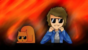 sdangksdfgh youtube banner thing x3 by Mirahu
