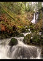 marsh creek falls by NWunseen