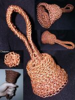 Copper Maille Handbell by cshake
