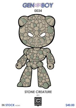 GB0034 - STONE CREATURE 001 by GERCROW