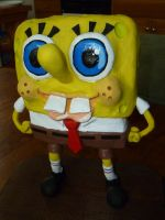 Spongebob Sculpture by Foredaddy