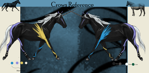 Crow's-Foot :Reference by Radiantthunder