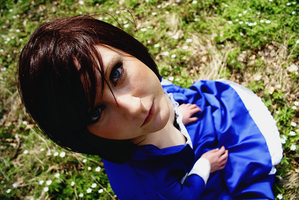 BioShock Infinite - Elizabeth Cosplay - Eyes by SeptemberFifteenth