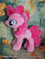 Pinkie Pie Plush v2.0 by Wolflessnight