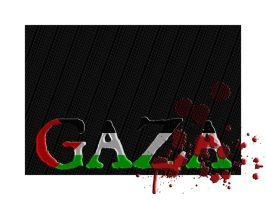 For Gaza by P-74