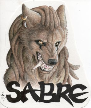 Commission-Sabre badge by Lyanti
