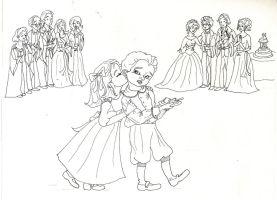 Teddy and Victorie's 1st Kiss by Hollyboo2001