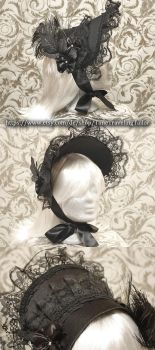 Victorian half bonnet #1 by Stahlrose