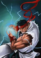 Street Fighter: Ryu by jimjaz