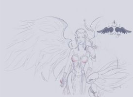 Aion: Asmodian's Spiritmaster by FreeWingsS