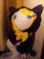 Ghost Rin Plushie by Insane-Sanety