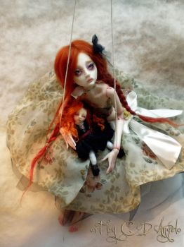 Ball jointed art doll BJD Child's Play BB by cdlitestudio