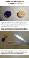 Polymer Clay Pie Tutorial PART 2 by Colour-Splashes
