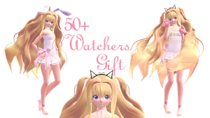 [MMD] Lullaby SeeU 50 Watchers Gift +DL by EvergreenGem
