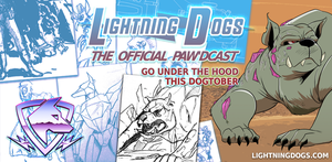 Lightning Dogs Paw'dcast Preview: Beasthound by lightningdogs
