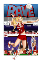 Rave Master - Volleyball by Zerenma