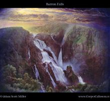 Barron Falls by Adam-Scott-Miller