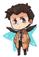 SPN - Animated Castiel by say0ran