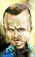 Jesse Pinkman -Who Messes With the Blowfish?- by Kalimon789