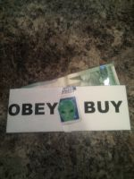 They Live! Themed Paper Wallet by TXTCLA55