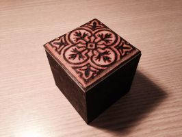 Little black box - pyrography by tiagoianuck