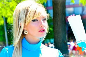 Moi as Samus by CosplayButterfly