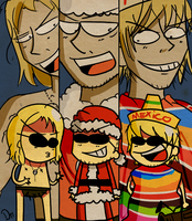 12. THE DUDESONS by WisteriaPeacock