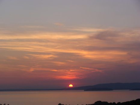 Umbrian Sunset by Rhoehypnol