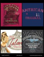 VARIOUS TEE GRAPHICS 2 by stlcrazy