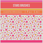 [For SAI] Stars Brushes by ASlovesLisa