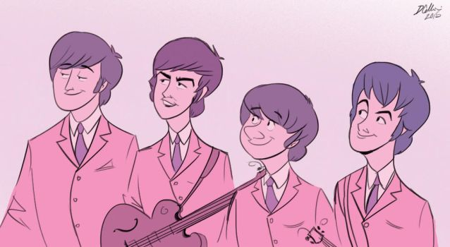 Beatles by Domcell