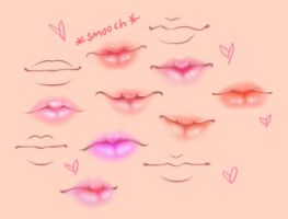 Lips by OxfordFlats